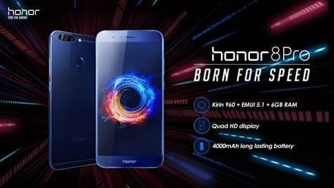 Honor 8 Pro is now available in the UK via Vmall/Amazon