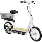 Razor EcoSmart Metro Electric Economical Scooter with Seat and Rack, Green by VM Express