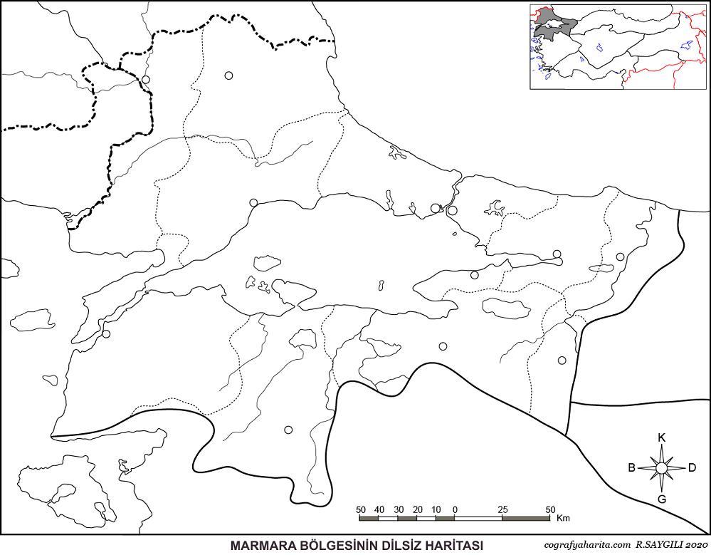 Türkiye Dilsiz Haritaları