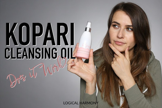 Kopari Coconut Cleansing Oil Review & Demo - Logical Harmony