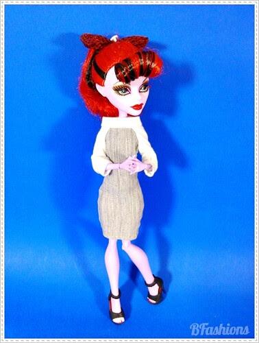 Sukienka z raglanem Monster High
