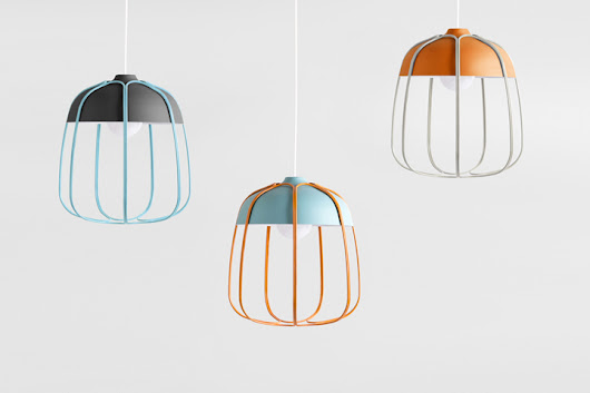 Tull lamp by Tommaso Caldera for Incipit »  Retail Design Blog