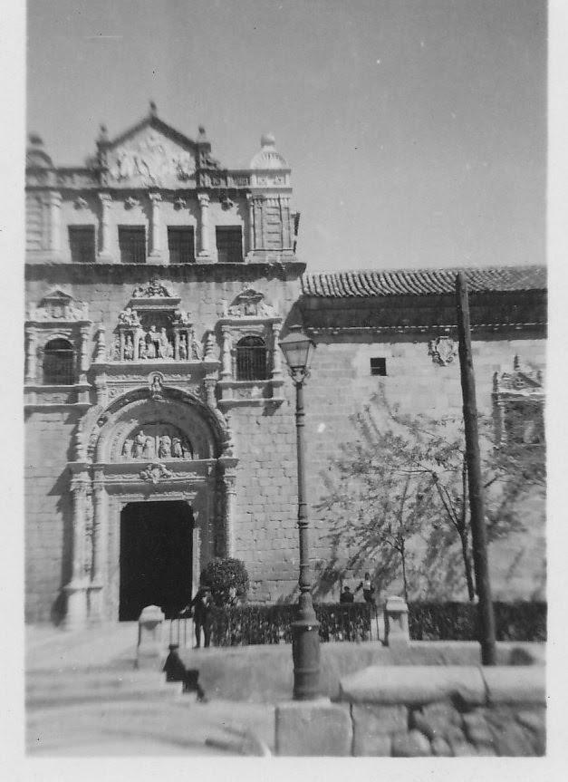 Museo de Santa Cruz en los años 60. Fotografía de Ricardo Sánchez Candelas
