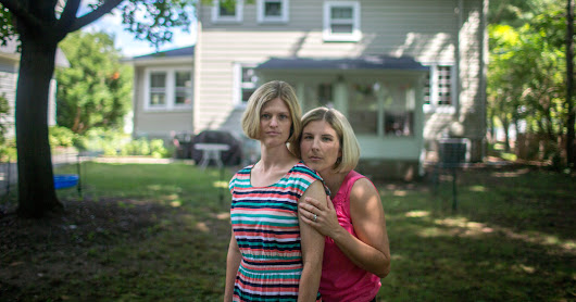 nyregion lesbian couple sues over new jersey rules for fertility treatment.