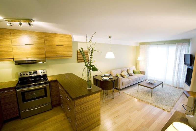 Awesome Open Plan Small Open Kitchen Living Room Design pictures