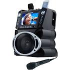 "Karaoke USA Gf839 DVD-CD+G-MP3+G Karaoke System with 7"" Color Screen"