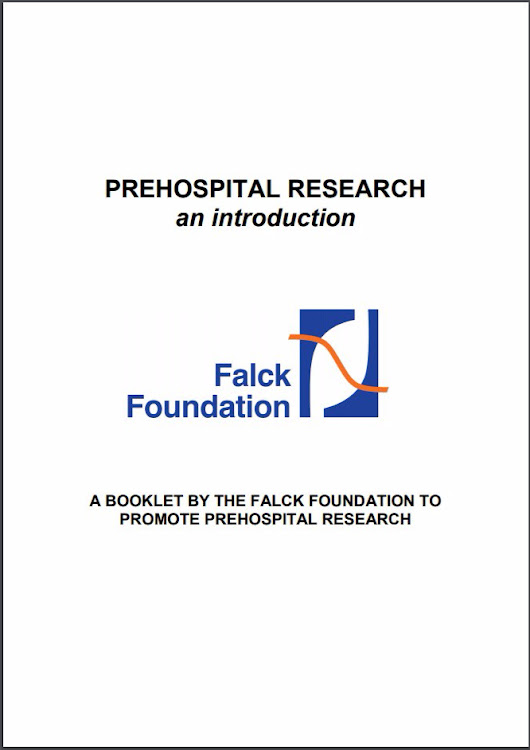 Recommended: Free online booklet 'Prehospital Research'