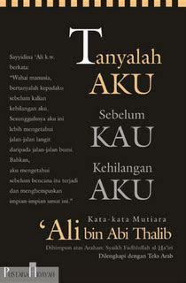 Kata Mutiara Cinta Ali Bin Abi Thalib
