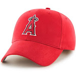 47 Brand MLB Fan Favorite Los Angeles Angels Basic Cap