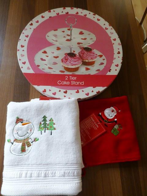 My secret santa goodies from Heather Dec13