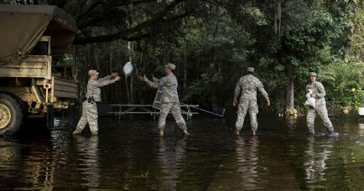 The U.S. military now has the money it needs to prepare for climate change