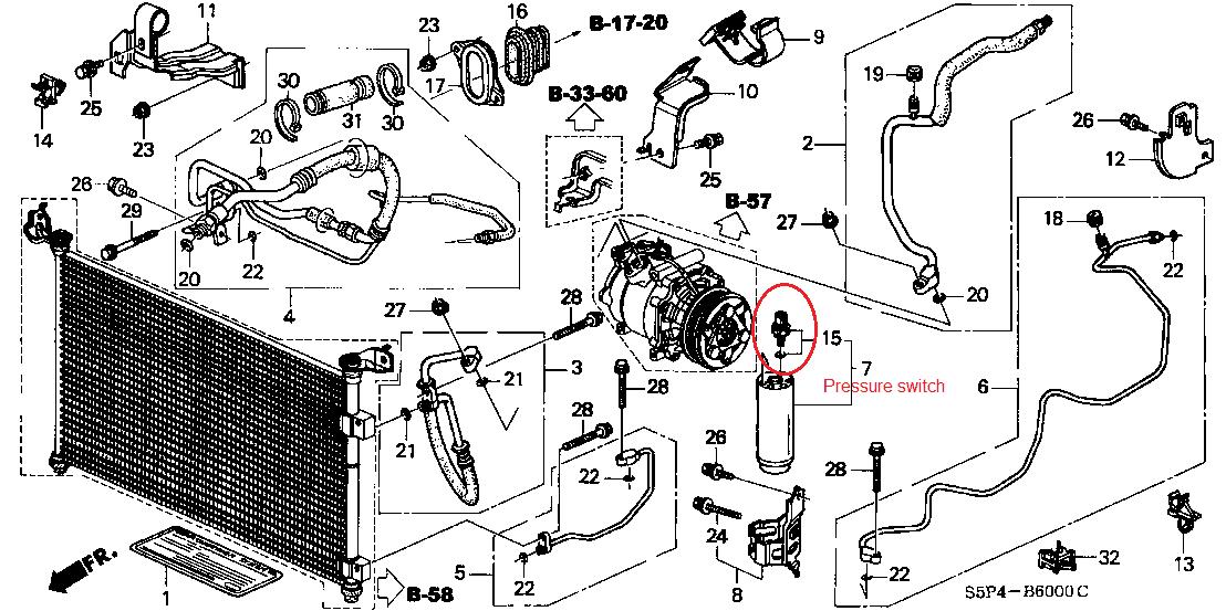 Honda Civic 02 Honda Civic Engine Diagram