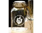 Dreidle Chanukah Jar - Myroxpaperscissors