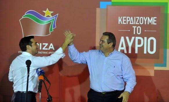 Αποτελέσματα εκλογών 2015: Οι `σύντροφοι` Τσίπρας - Καμμένος πιάνουν δουλειά με το... καλημέρα - Ποιοι `προβάρουν` το υπουργικό κοστούμι