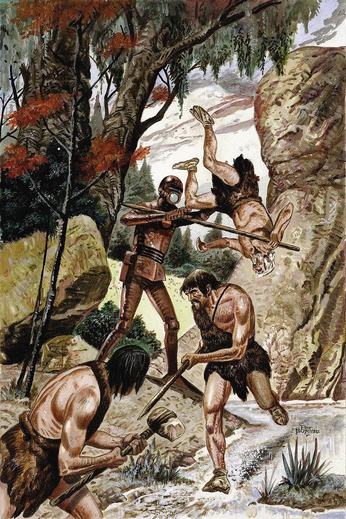 Pat Boyette - Korg: 70,000 B.C.  #6