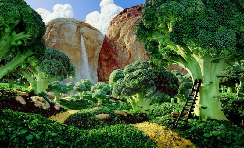 As paisagens com comida de Carl Warner 18