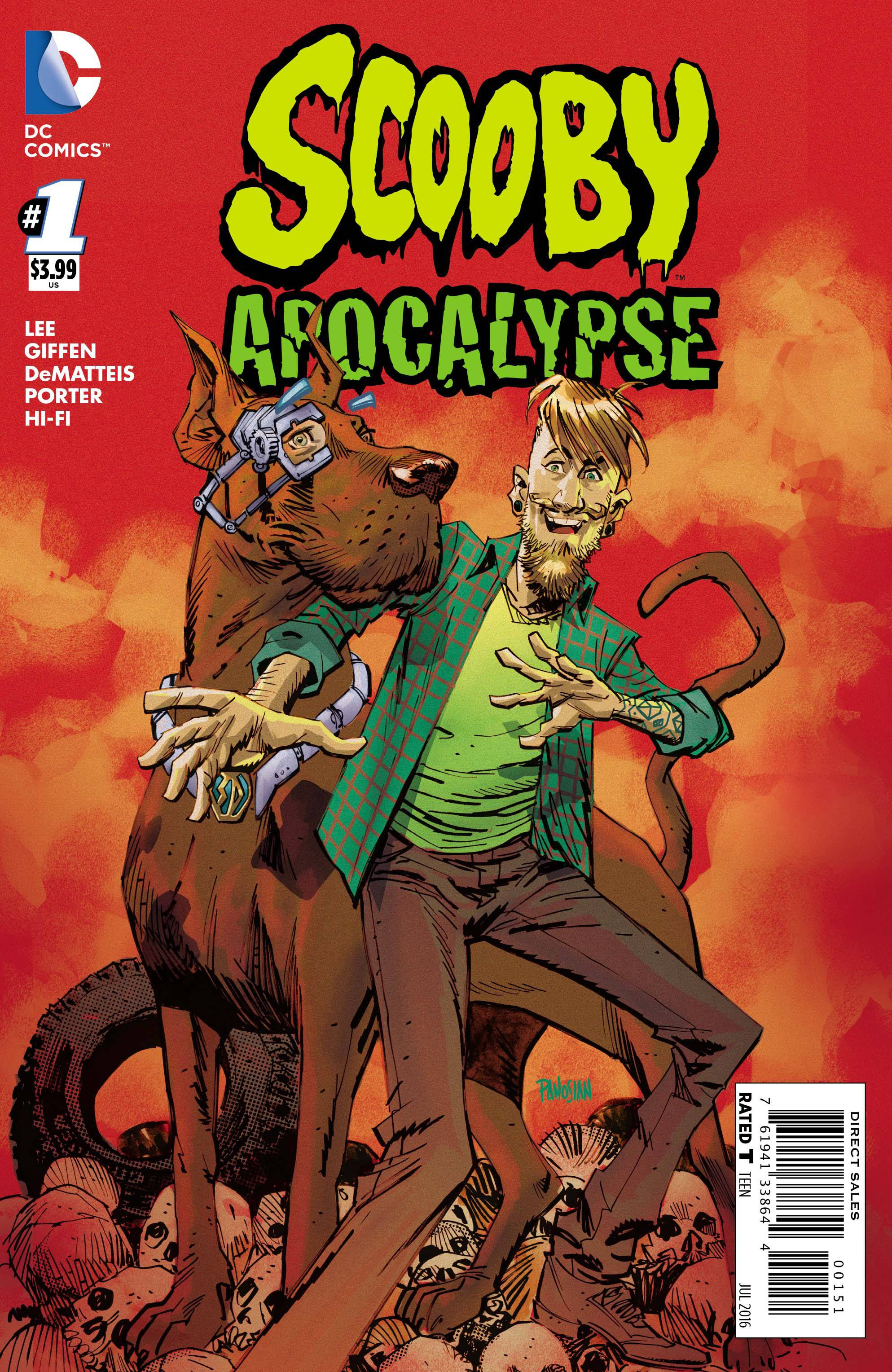 Scooby Apocalypse Issue One