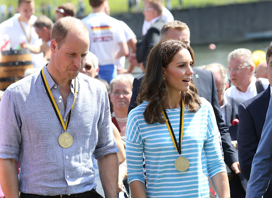 Day 2 of #RoyalVisitGermany - Will beats Kate in boat race plus pretzel making in Heidelberg! • The Crown Chronicles