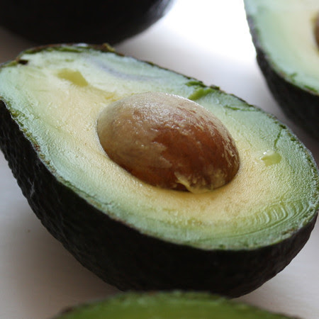 Avocado Half, Liv Life Logo