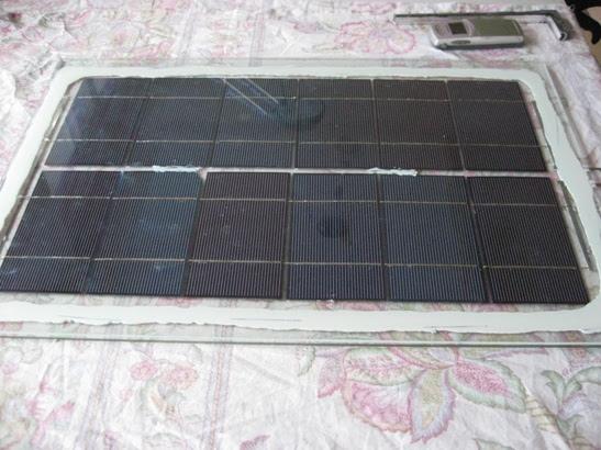 Het verbeterde zonnepaneel