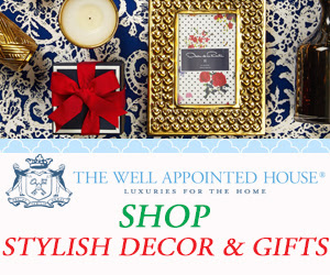 Shop Stylish Holiday Decor & Gifts at The Well Appointed House!