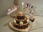 mini gâteau à étages choco _ citron GREENWEEZ 1
