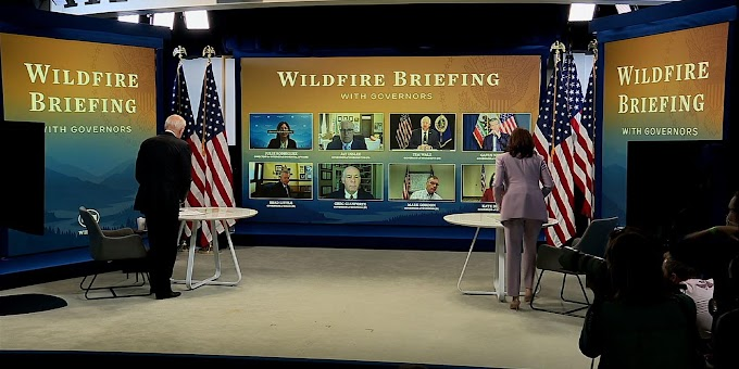 Biden sounds alarm on need for wildfire resources
