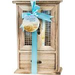 Freida and Joe - Oceanside Breeze Spa Bath Gift Set in Natural Wood Curio