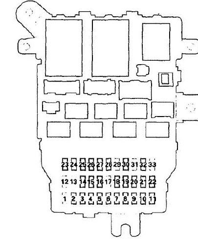 Acura Rsx Under Dash Fuse Box Diagram - Wiring Diagram ...