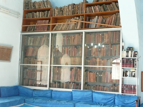 seating and books