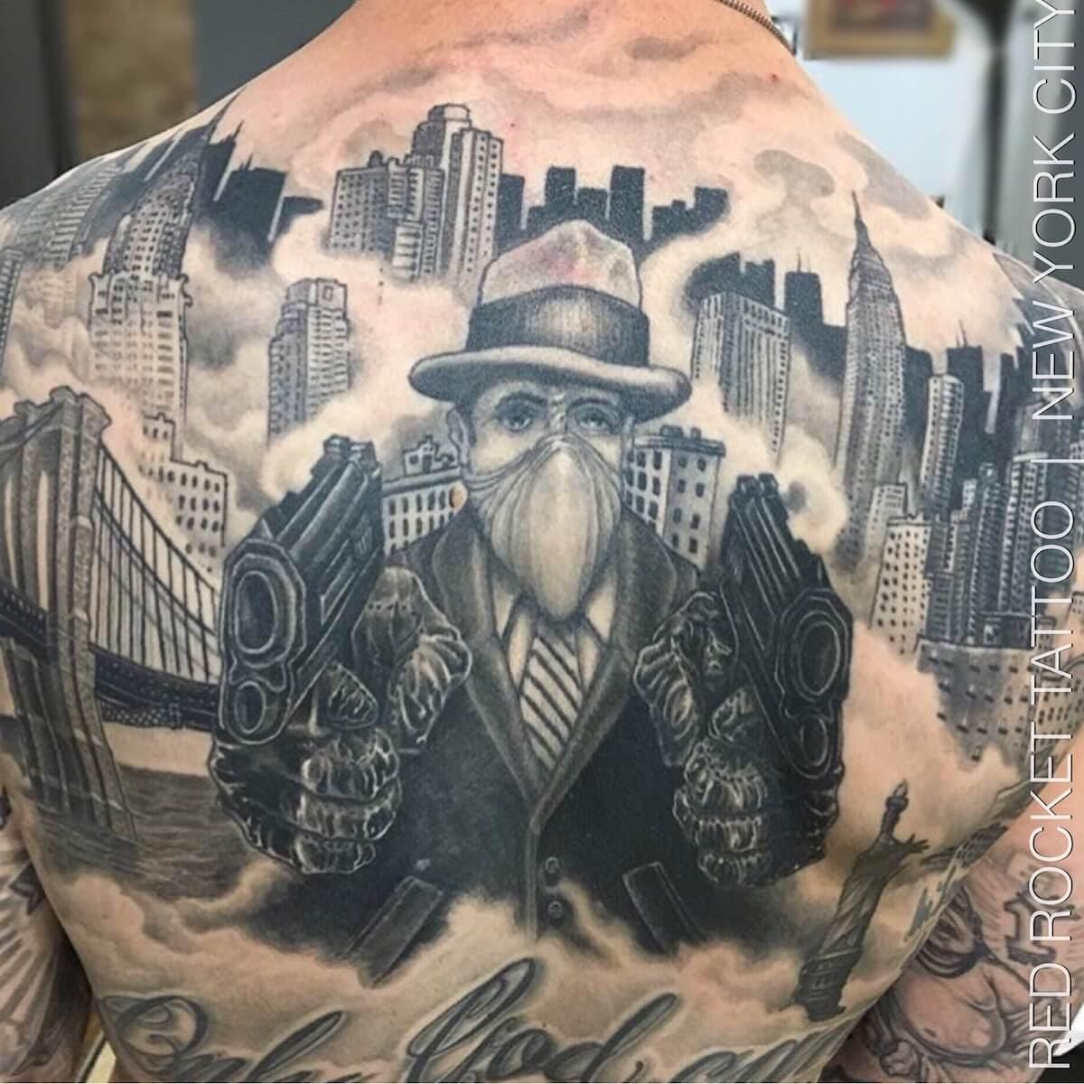 Tattoo Porfolio Of Needles Red Rocket Tattoo Nyc