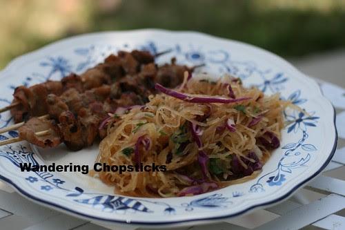 Goi Bi Soi Chay (Vietnamese Vegetarian Spaghetti Squash Salad) 8