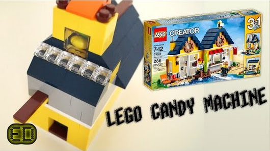 Simple Lego Candy Machine Using Only Lego Creator 30135