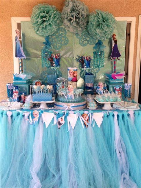 Disney Frozen Birthday Party Ideas   Photo 1 of 10   Catch