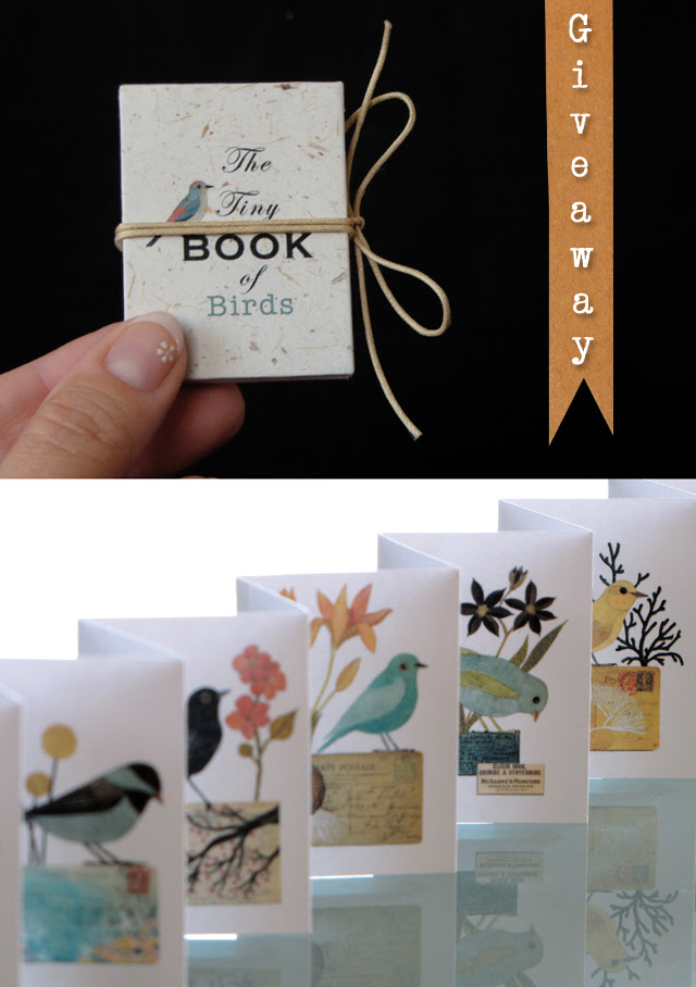 Tiny Book giveaway