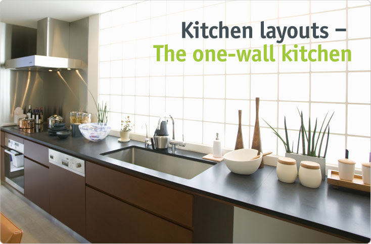 One Wall Kitchen Layout With Island | Kitchen Layout & Decor Ideas