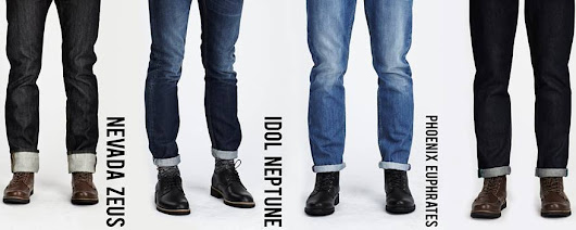 What works for you? A guide to Bellfield jeans for men. – Fox + Feather