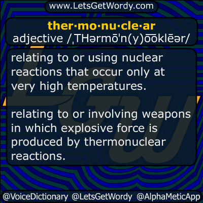 thermonuclear 09/10/2017 GFX Definition