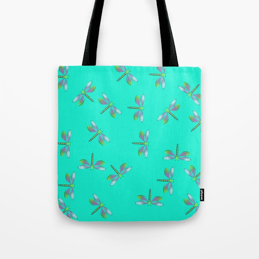 The Adaptable Dragonflies Tote Bag