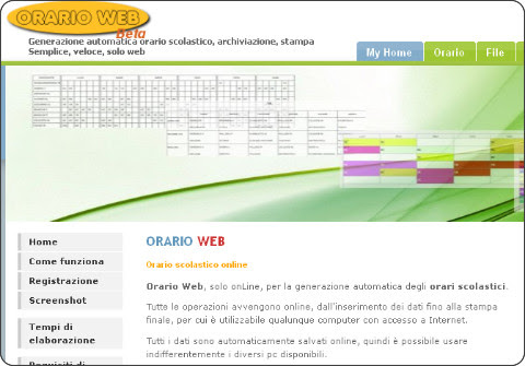 http://www.orarioweb.it/timetable/index.php