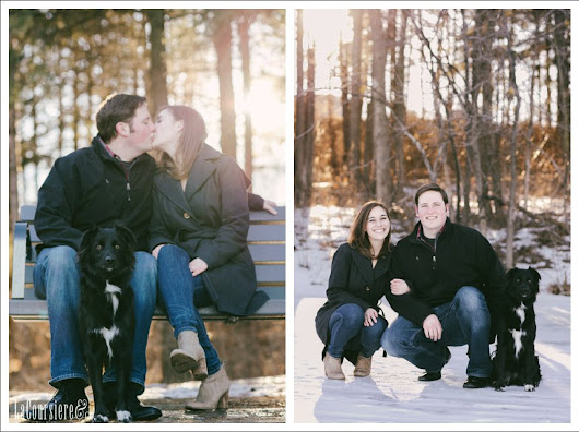 Danny + Kathryn  //  Parkers Lake Park Engagement  //  by Amber