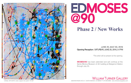EDMOSES@90 - PHASE2 / NEW WORKS, Opening next Saturday, June 25, 5-7PM