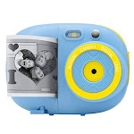 Sunny & Fun Crafty Cam | Kids Instant Print Camera & Video Camcorder Bundle with 2.4 Inch HD Digital Screen, Timer, Selfie Mirror, Filters for Hours