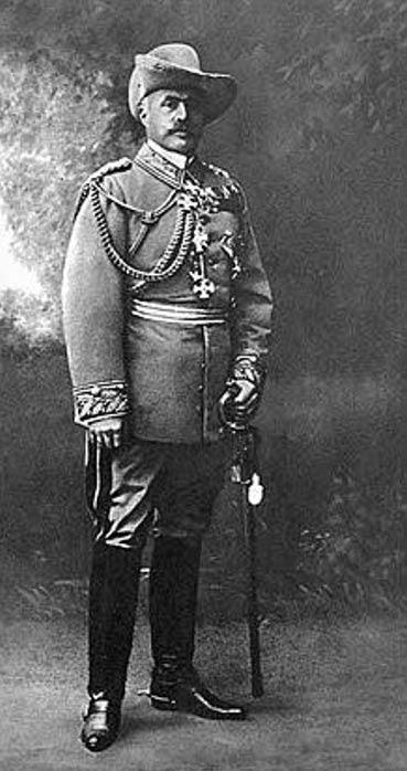 El teniente general Lothar von Trotha