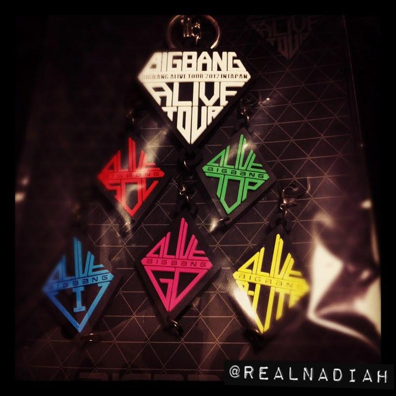 Strap Key Holder BIGBANG ALIVE TOUR JAPAN