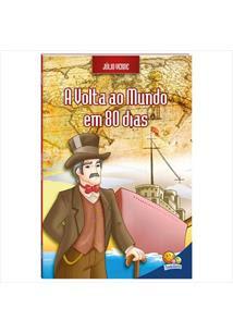 Resultado de imagem para A volta ao mundo em 80 dias livro adaptado cristina
