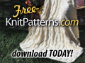 Free knit afghan pattern - download today!