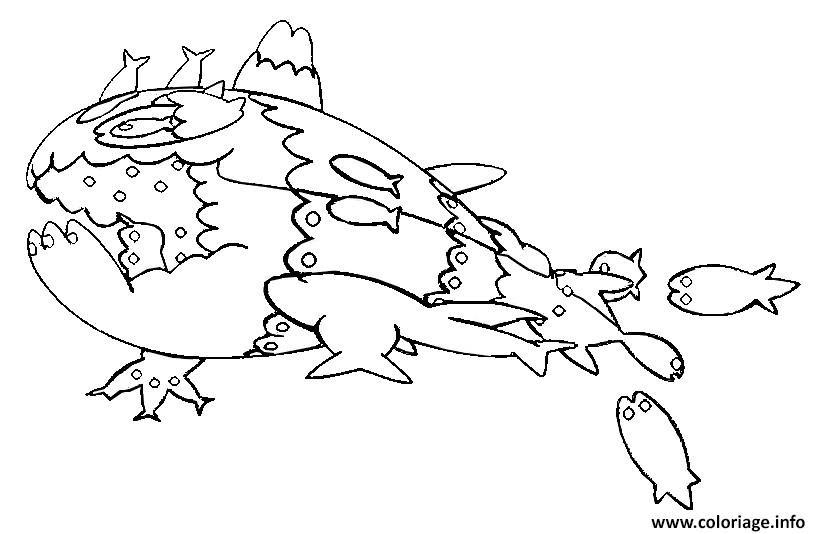 Coloriage Froussardine Pokemon Soleil Lune Jecoloriecom