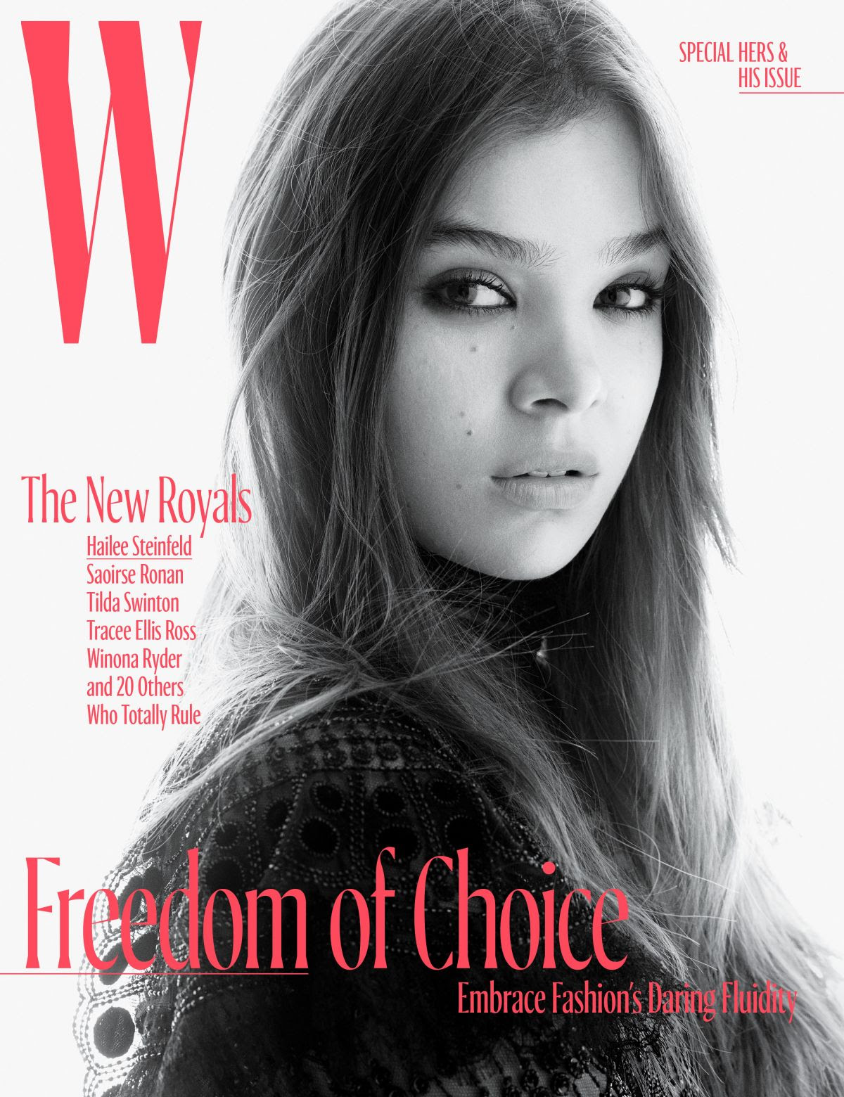 HAILEE STEINFELD for W Magazine, October 2017