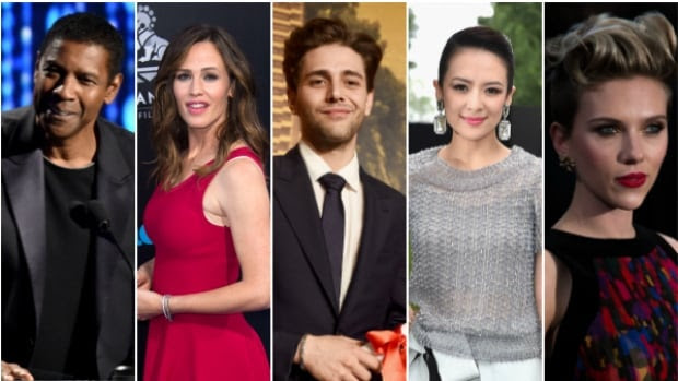 Guests expected to attend the 2016 Toronto International Film Festival include, from left, Denzel Washington, Jennifer Garner, Xavier Dolan, Zhang Ziyi and Scarlett Johansson.